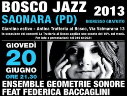 BoscoJazz 2013 : 20 e 27 giugno