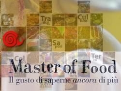 Master of Food ... il gusto di saperne ancora di più : 8 - 15 - 22 aprile 2014