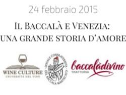 Il Baccalà e Venezia: una grande storia d'amore