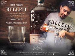 Cena dedicata al Bulleit e abbinamento con whiskey