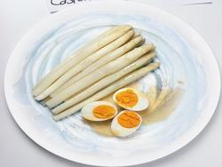 Serata a tema asparagi