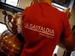 a cena col mastro birraio del birrificio La Gastaldia