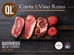 carne & vino rosso