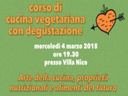 Corso di cucina vegetariana con degustazione