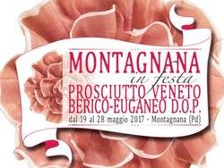 Festa del Prosciutto Veneto Berico Euganeo dop: 27 - 28 maggio