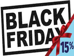 Solo per 24 ore la vendita promozionale Black Friday