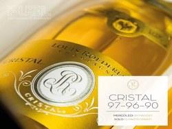 champagne cristal special vintage '97 - '96 - '90